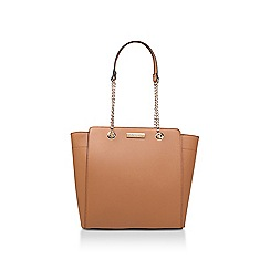 37ddaa429b94 Carvela - Tan  Rate Tote With Part Chain  tote bag