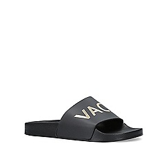 Miss KG - Black 'Rave' flat sliders