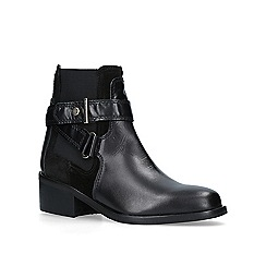 Carvela - Black 'Stirrup' biker boots