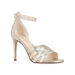 Nine West - Gold 'Jacaran' high heel sandals