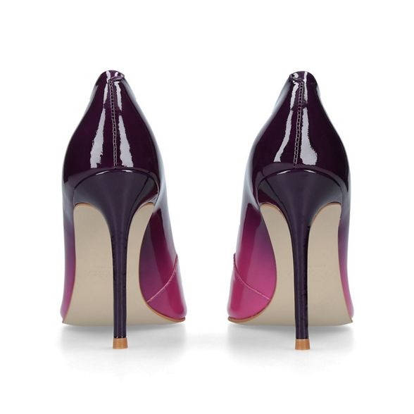 court Purple 'Alice heel 2' high Carvela shoes wAPdFXqqx