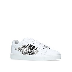 Carvela - White 'lustre' low top trainers