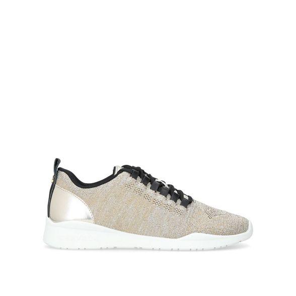 trainers Carvela knit low 'Lit' Gold top x7HX6