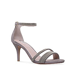 Carvela - Grey 'genesis' high heel sandals