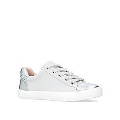 Carvela - Grey 'light' low top trainers