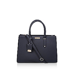 Carvela - Black 'sasha large trapeze tote'bag