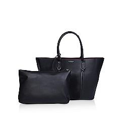 Carvela - Black 'selena plait front tote' bag