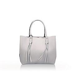 Carvela - Grey 'Selena Plait Front Tote' tote bag