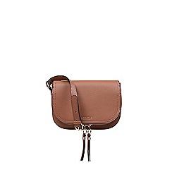 Carvela - Soula Saddle zip cross body bag