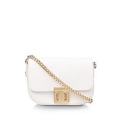 Carvela - White 'Sara Clean Saddle Bag' cross body bag