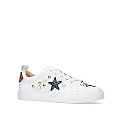 KG Kurt Geiger - 'Lippy' flat lace up sneakers