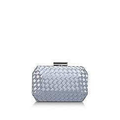 Carvela - Pale 'Gianni' blue clutch bag