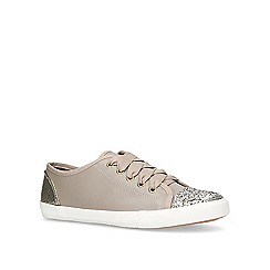 Miss KG - Grey 'Lucca' lace-up trainers