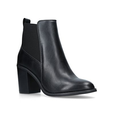 Miss KG - Black 'Jolly' mid heel ankle boots