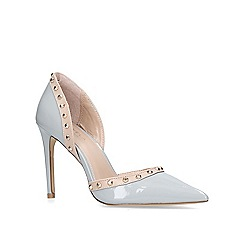 Carvela - Grey 'kosmic' high heel court shoes