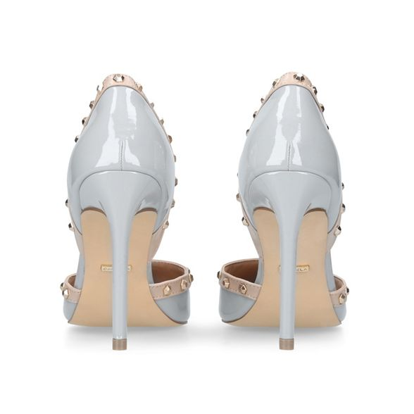 high 'kosmic' court shoes heel Grey Carvela qvES44