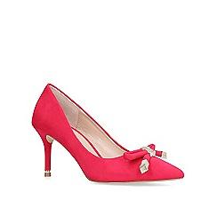 Carvela - Pink 'kupid' high heel court shoes