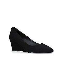 Carvela - Black 'kaden' mid heel court shoes