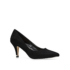Carvela - Black 'Kicker' mid heel court shoes