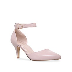 Carvela - Nude 'Kixx' mid heel court shoes
