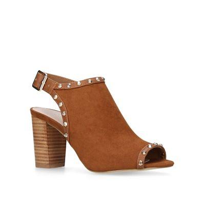 Carvela - Tan 'Kasper' mid heel ankle boots