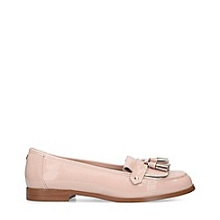 Carvela - Nude 'Magpie' Patent Slip On Loafers