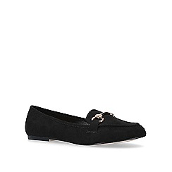 Carvela - Black 'Mighty' flat loafers