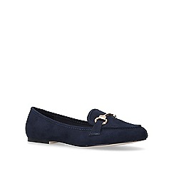 Carvela - Navy 'Mighty' flat loafers