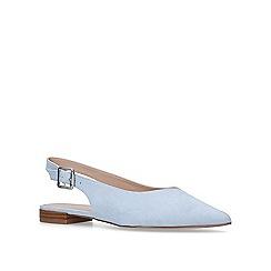 Carvela - Pale 'Milo' blue slingback sandals