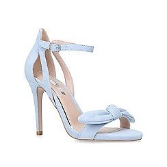 Miss KG - Blue 'Suzie' high heel sandals
