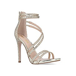 Miss KG - Gold 'sesame' sandals