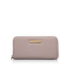 Carvela - Taupe 'Alisz Zip Wallet' zip wallet