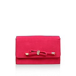 Carvela - Pink 'Kupid' clutch bag
