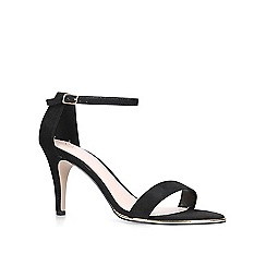 Carvela - Black 'Kink' mid heel sandals