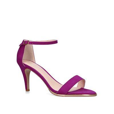 55abb3103fc Carvela Purple  Kink  mid heel sandals