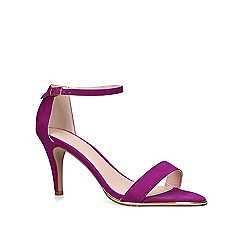 Carvela - Purple 'Kink' mid heel sandals