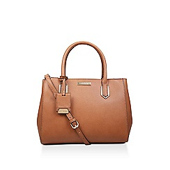 Carvela - Tan 'Sunny Double Zip Tote' tote bag