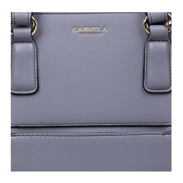 purse Carvela tote 'Simba' bag pocket q0BErw0x