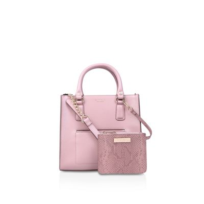 a3a7d1cc7652 Carvela Pink  simba pocket purse tote  bag