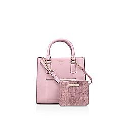 Carvela - Pink 'simba pocket purse tote' bag