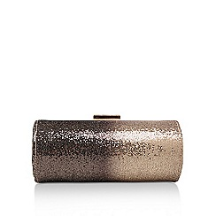 Carvela - Gold ''Davina' clutch bag