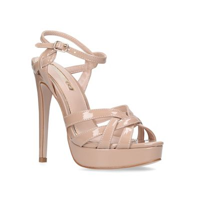 Miss KG - Nude 'Samia' high heel sandals
