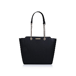 Carvela - Black 'Rate Tote With Part Chain' tote bag