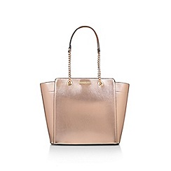 Carvela - Bronze 'Rate Tote With Part Chain' tote bag