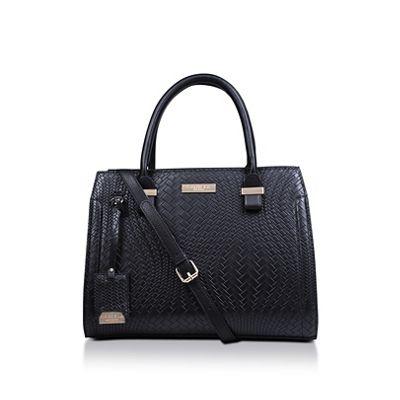 Carvela   Black 'holly Woven Tote Bag' Tote Bag by Carvela