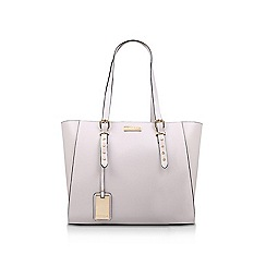 Carvela - Grey 'Sammy Stud Winged Tote' tote bag