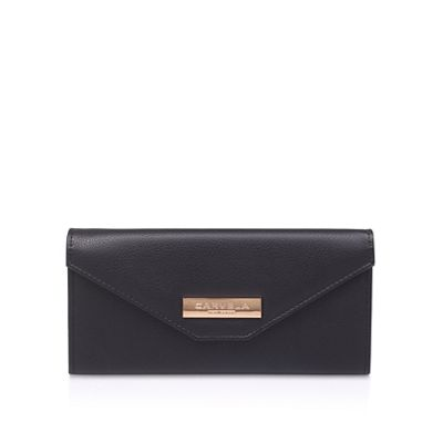 Carvela   Black 'amelia Envelope Wallet' Fold Over Purse by Carvela