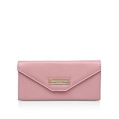 Carvela - Pink 'Amelia Envelope Wallet' fold over purse