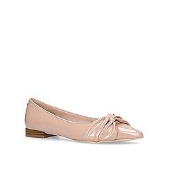 Miss KG - Nude 'Nigella' flat shoes