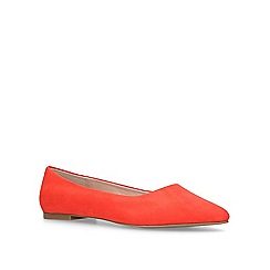 Carvela - Orange 'Mousey' flat ballerina pumps